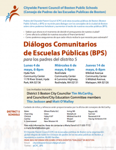 District_5_Flyer_Budget_Dialogs_SPANISH