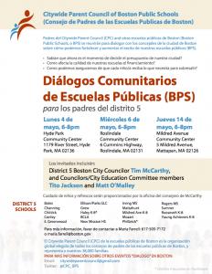 District_5_Flyer_Budget_Dialogs_SPANISH